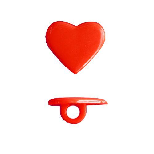Пуговица, Сердце (KD0042) 13 мм