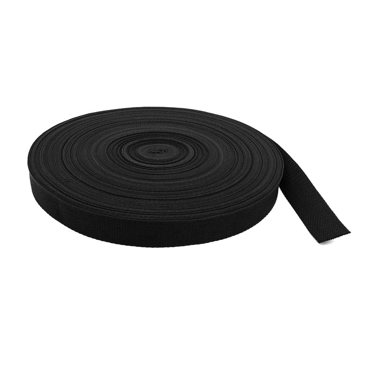 Лента ременная, черный, 30 мм*50 м