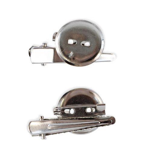 OTH1527 Основа для броши и заколки, d 2 см, упак./7 шт., 'Астра'