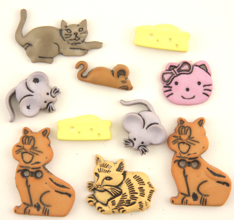 4433, Пуговицы. Кошки-мышки