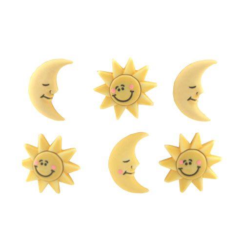 BZ104, Пуговицы. Солнце и луна