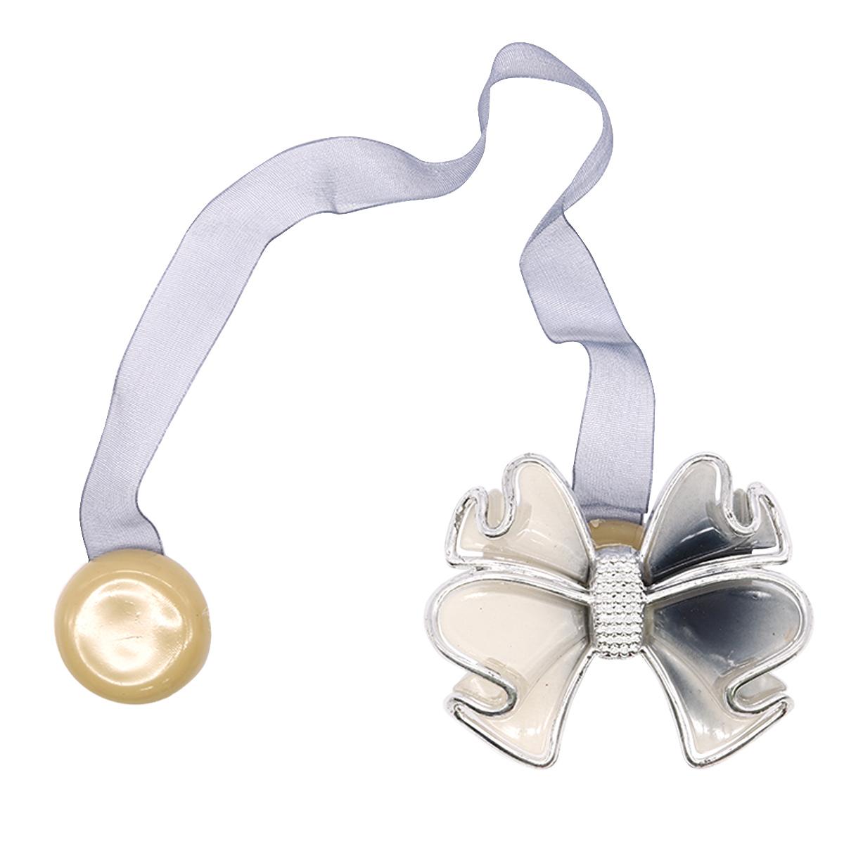 Клипса-магнит для штор 0368-0096 (8140 т.серый) фото