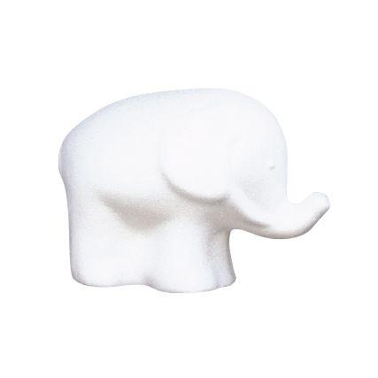 Заготовка для декорирования из пенопласта 'Слон', 10,5*14,5см