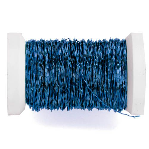 62210004 Проволока декоративная, ? 0,30мм, 45м, голубой Glorex