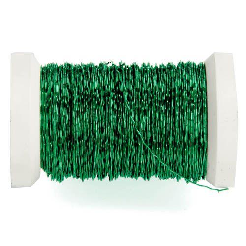 62210005 Проволока декоративная, ? 0,30мм, 45м, зеленый Glorex