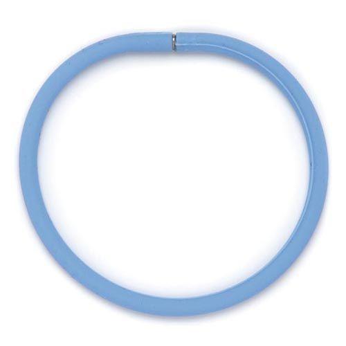61632005 Силиконовые браслеты 21 см, 3шт, голубой цв. Glorex