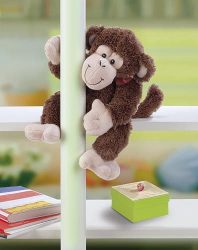 04632-1 Набор для создания игрушки Обезьяна Додо 22 см для самостоятельного набивания Glorex