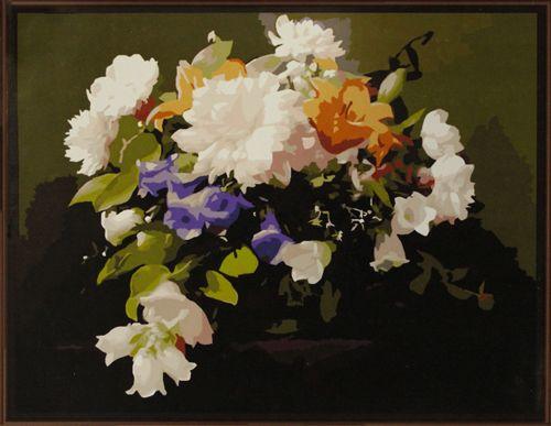 GX6273 Набор для раскрашивания по номерам 'Букет цветов', 40*50см