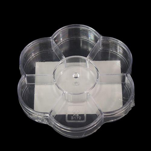 930513 Контейнер-ромашка с 7 отделениями, 10,7*10,7*2 см, Hobby&Pro
