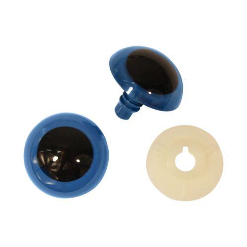 Глазки пластиковые с фиксатором, 22 мм, упак./2 шт., 'Астра'