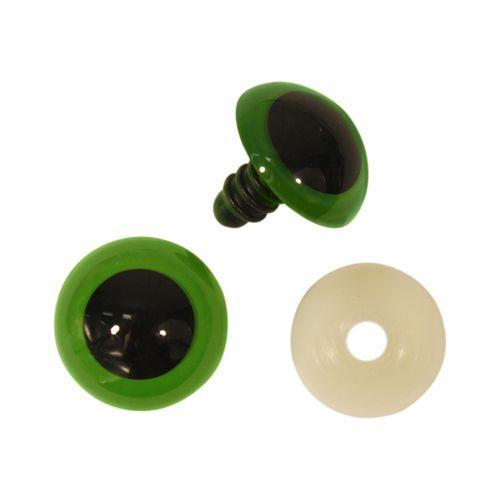 Глазки пластиковые с фиксатором, 26 мм, упак./2 шт., 'Астра'