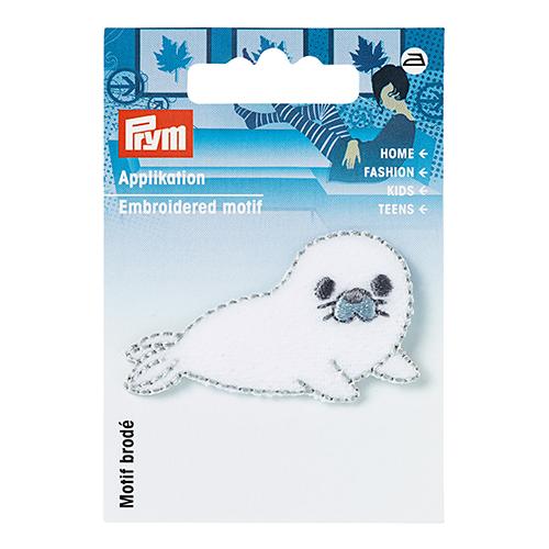 923105 Термоаппликация Тюлень белый цв. Prym