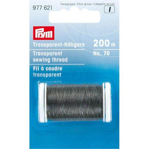 977621 Прозрачные нити для шитья №70 темный цв., 200м Prym
