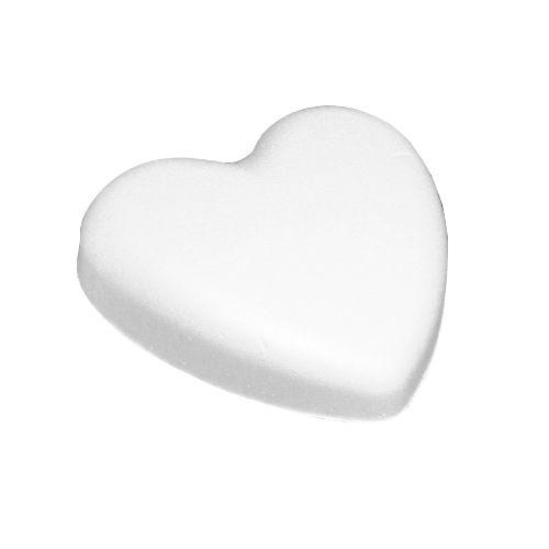 Заготовка для декорирования из пенопласта 'Сердце плоское', 14*4см