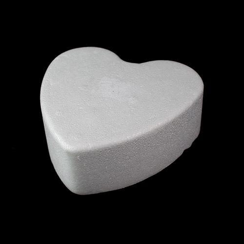 Заготовка для декорирования из пенопласта 'Сердце плоское', 14*5см
