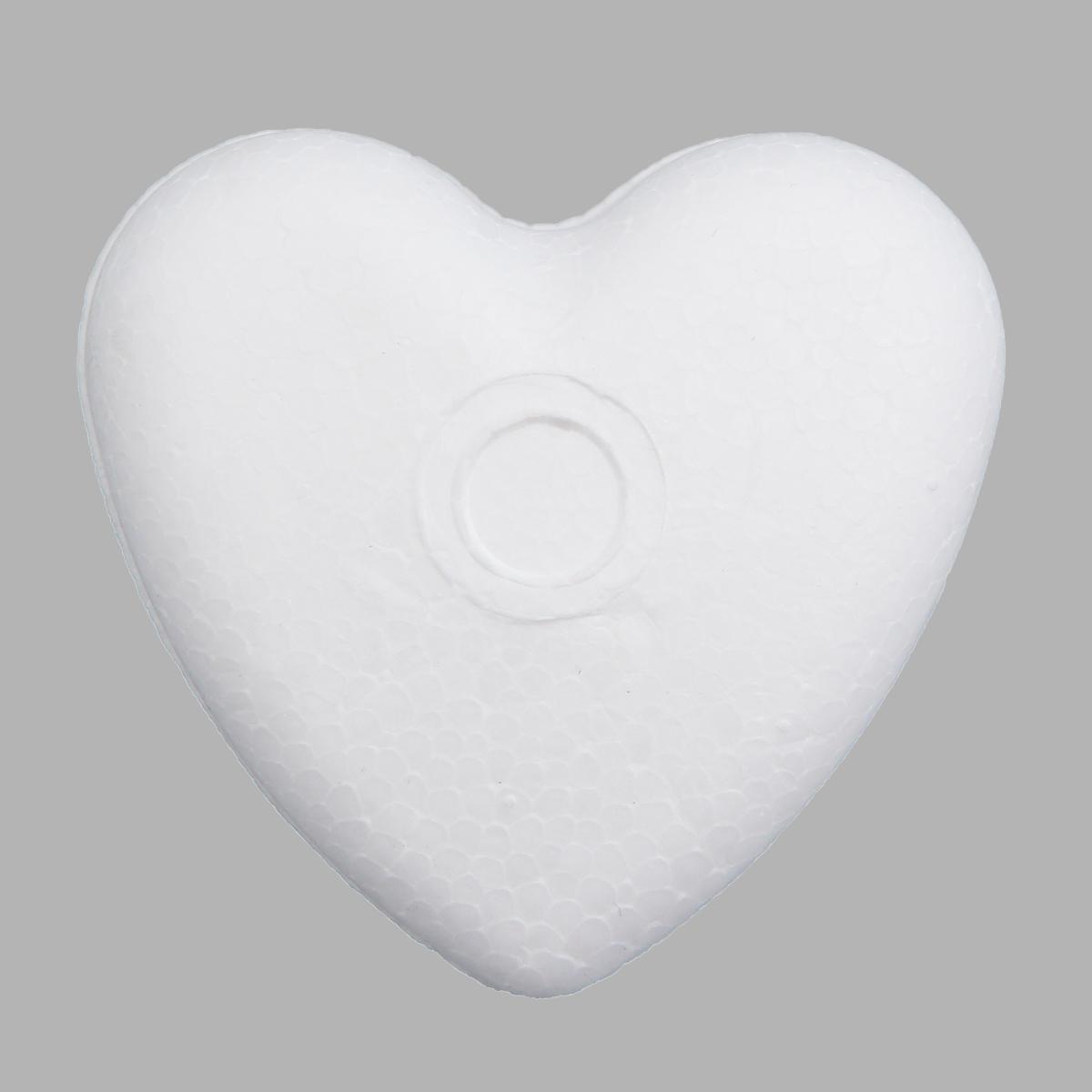 Заготовка для декорирования из пенопласта 'Сердце объемное', 4см