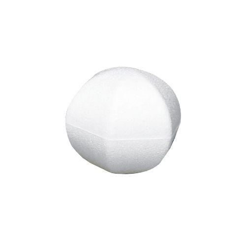 Заготовка для декорирования из пенопласта 'Многоугольный шар', 11*11см