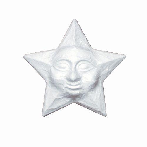 Заготовка для декорирования из пенопласта 'Звезда плоская', d 32см