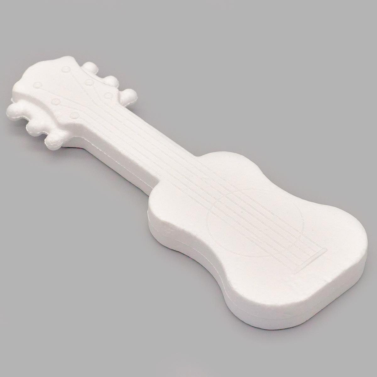 Заготовка для декорирования из пенопласта 'Гитара (подвеска)', h 17*6см