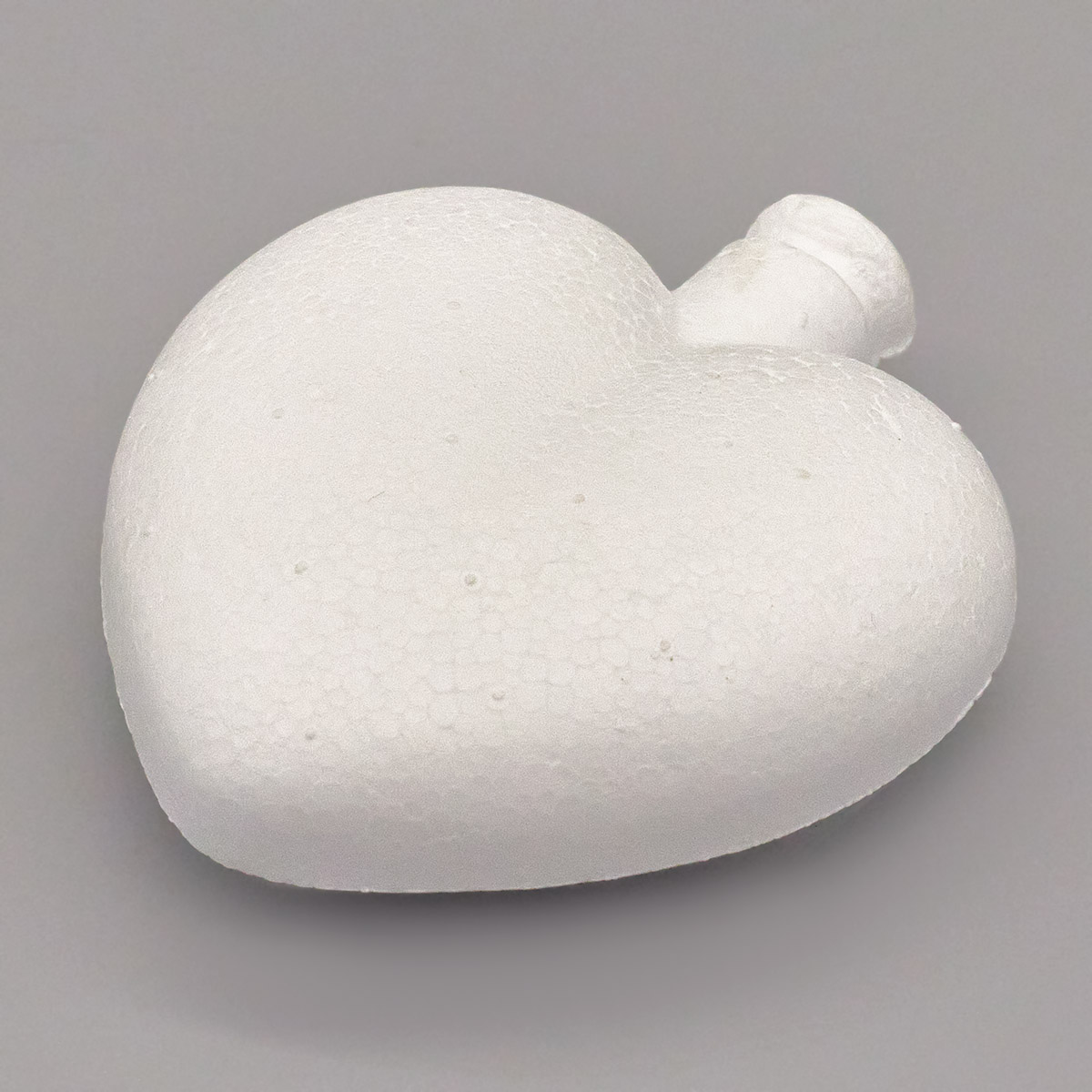 Заготовка для декорирования из пенопласта 'Сердце (подвеска)', h 6,5*6см