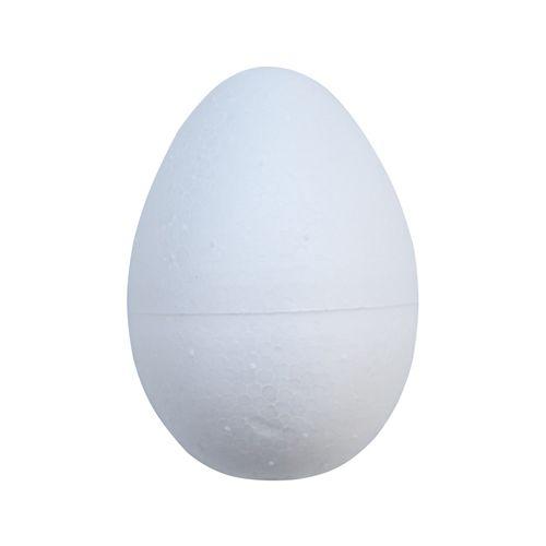 Заготовка для декорирования из пластика 'Яйцо', d 5,5см, h 8см
