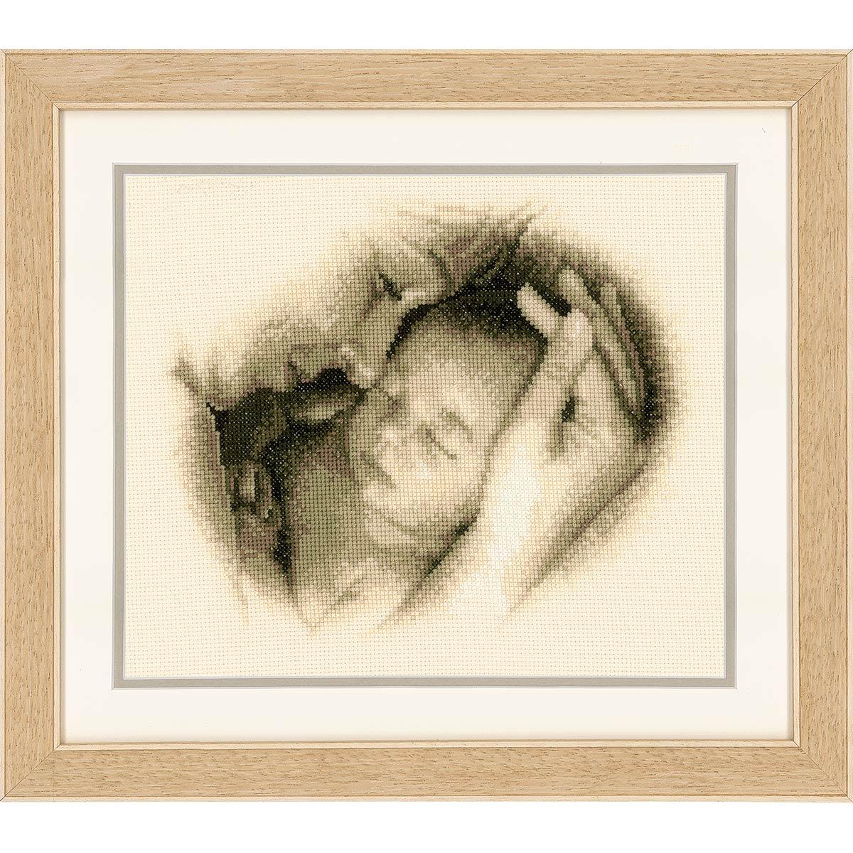 0012175-PN Набор для вышивания Vervaco 'Мать и дитя' 26x21см