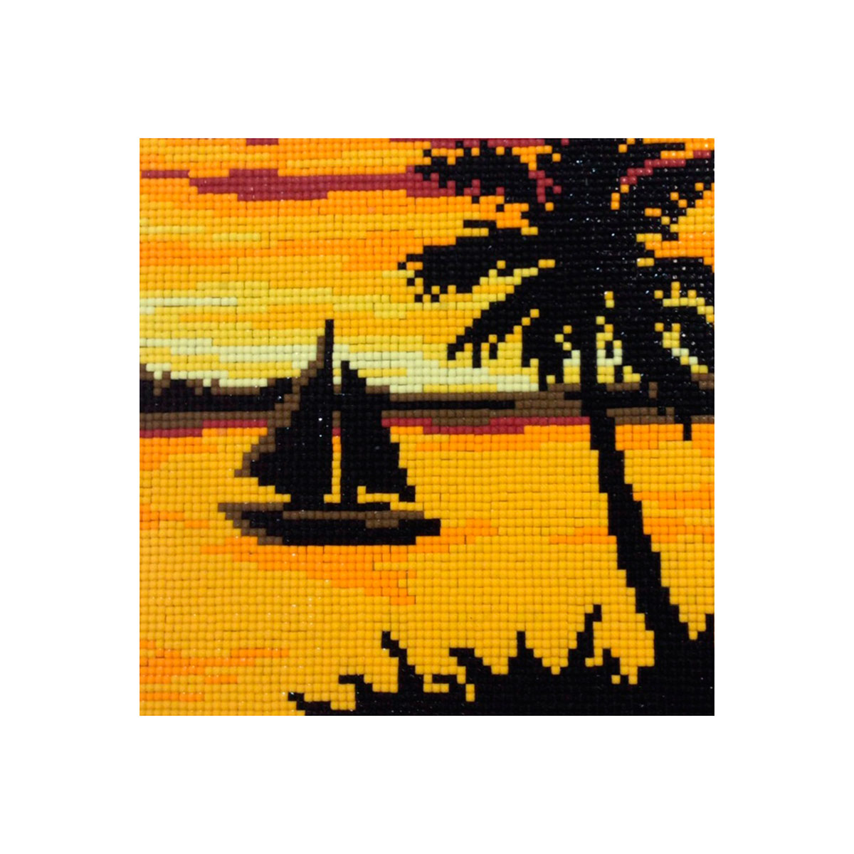 7151 Мозаика Cristal 'Теплый берег', 21*21 см