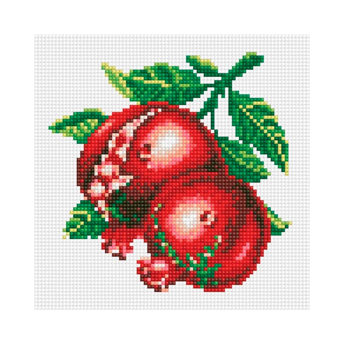 7299 Мозаика Cristal 'Гранат', 28*27 см