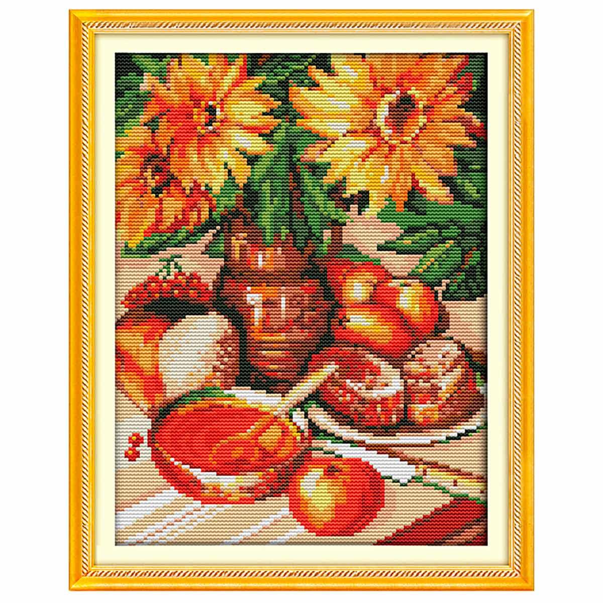 7360 Мозаика Cristal 'Сочный натюрморт', 30*40 см