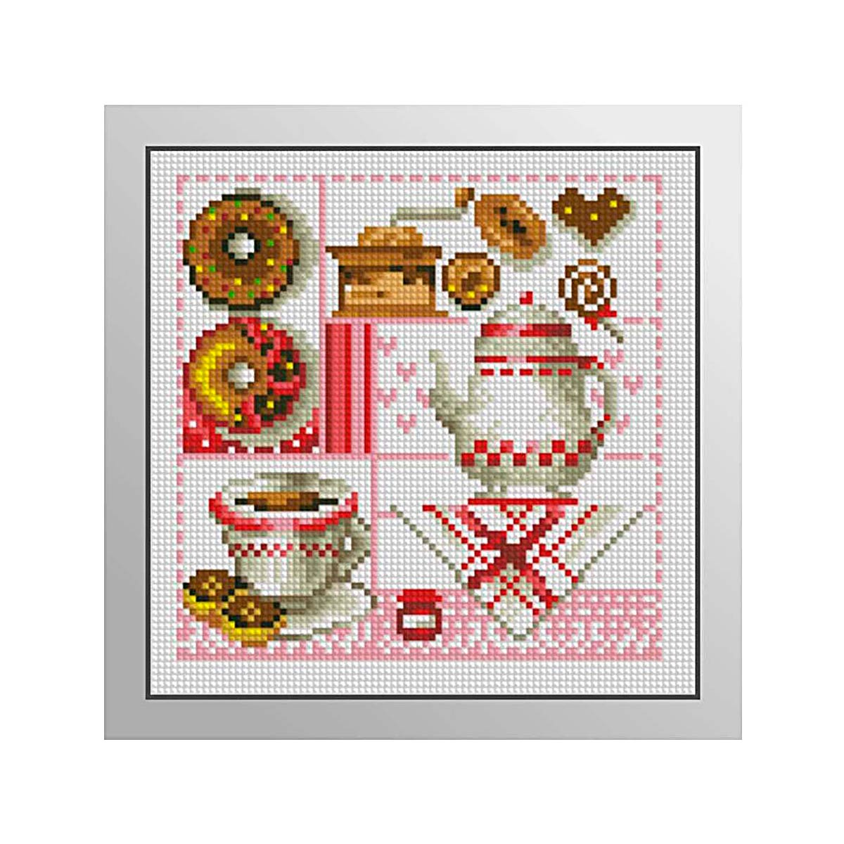 7452 Мозаика Cristal 'Кухня', 19*19 см