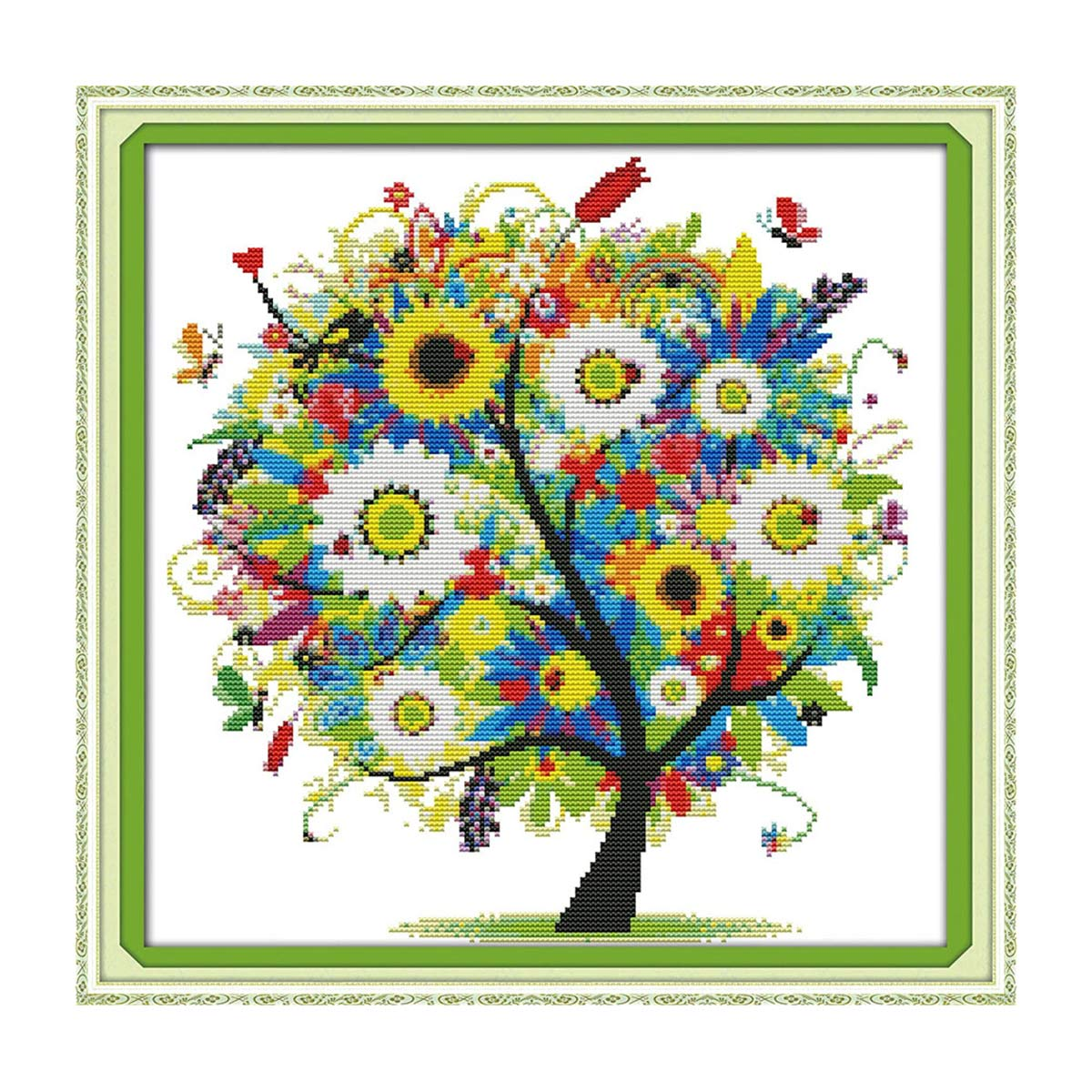 7654 Мозаика Cristal 'Солнечное дерево', 50*50 см