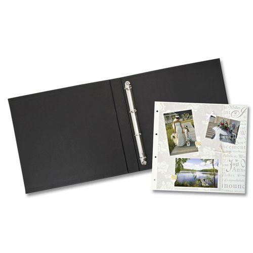 Папка для фотоальбома с 4 кольцами, 31x32,5см (68200) Folia