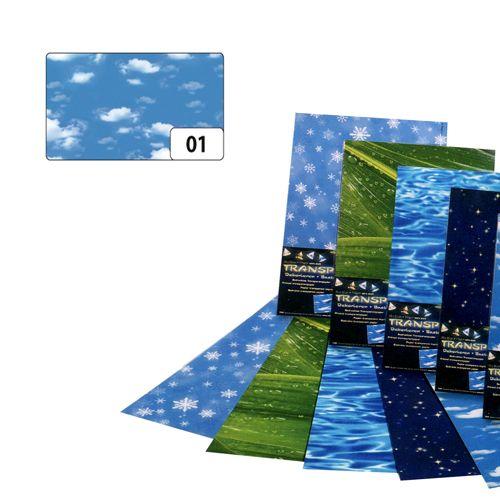 83101 Транспарентная бумага 'Облака', 115 г/м?, 50,5*70 см, Folia