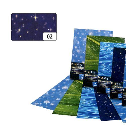 83102 Транспарентная бумага 'Звездное небо', 115 г/м², 50,5*70 см, Folia