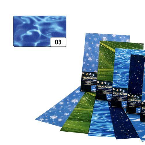 83103 Транспарентная бумага 'Вода', 115 г/м², 50,5*70 см, Folia