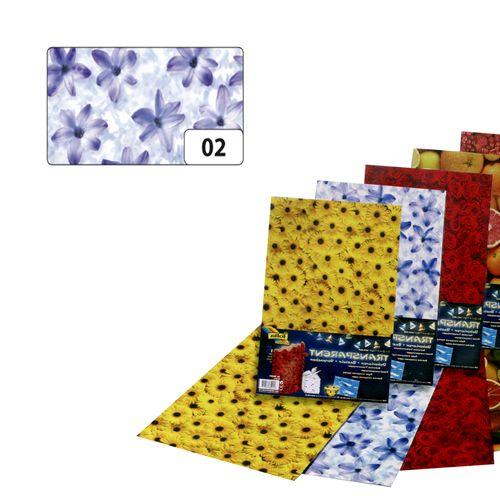 86102 Транспарентная бумага 'Гиацинт', 115 г/м?, 50,5*70 см, Folia