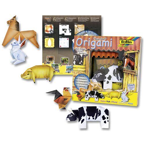 Оригами 'Мир животных. Ферма' (91101) Folia