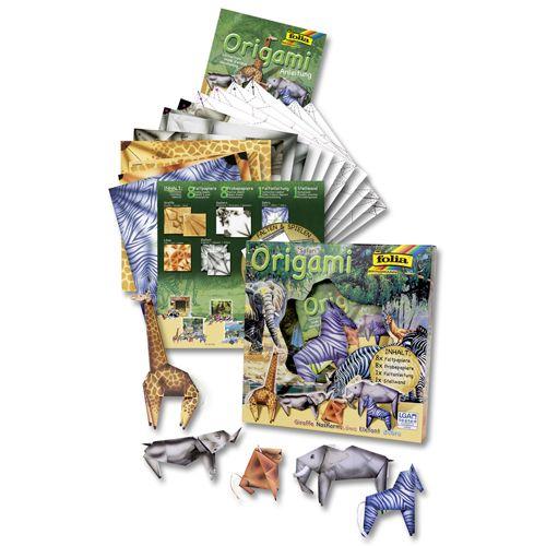 Оригами 'Мир животных. Сафари' (91102) Folia
