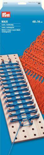 624158 Основа для плетения на колышках Loom Maxi, прямоугольник, 14x48 cм, Prym