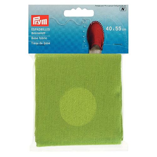 932407 Материал для верха эспадрилей, зеленый, 40*55 cм, Prym