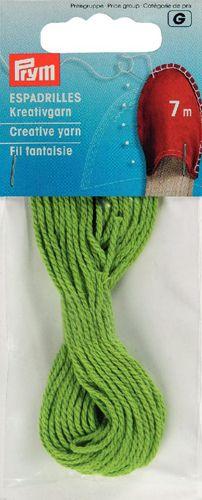 932607 Декоративная нить для эспадрилей, зеленый, 7 м, Prym