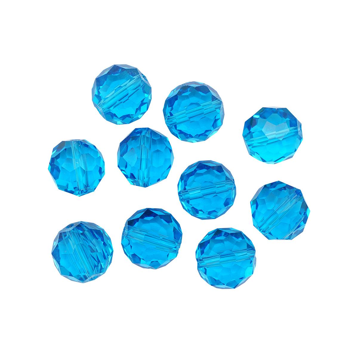 GBZ Бусины стеклянные, 12 мм, упак./10 шт., 'Астра'
