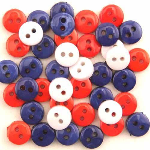 1573, Пуговицы-мини. Американский флаг