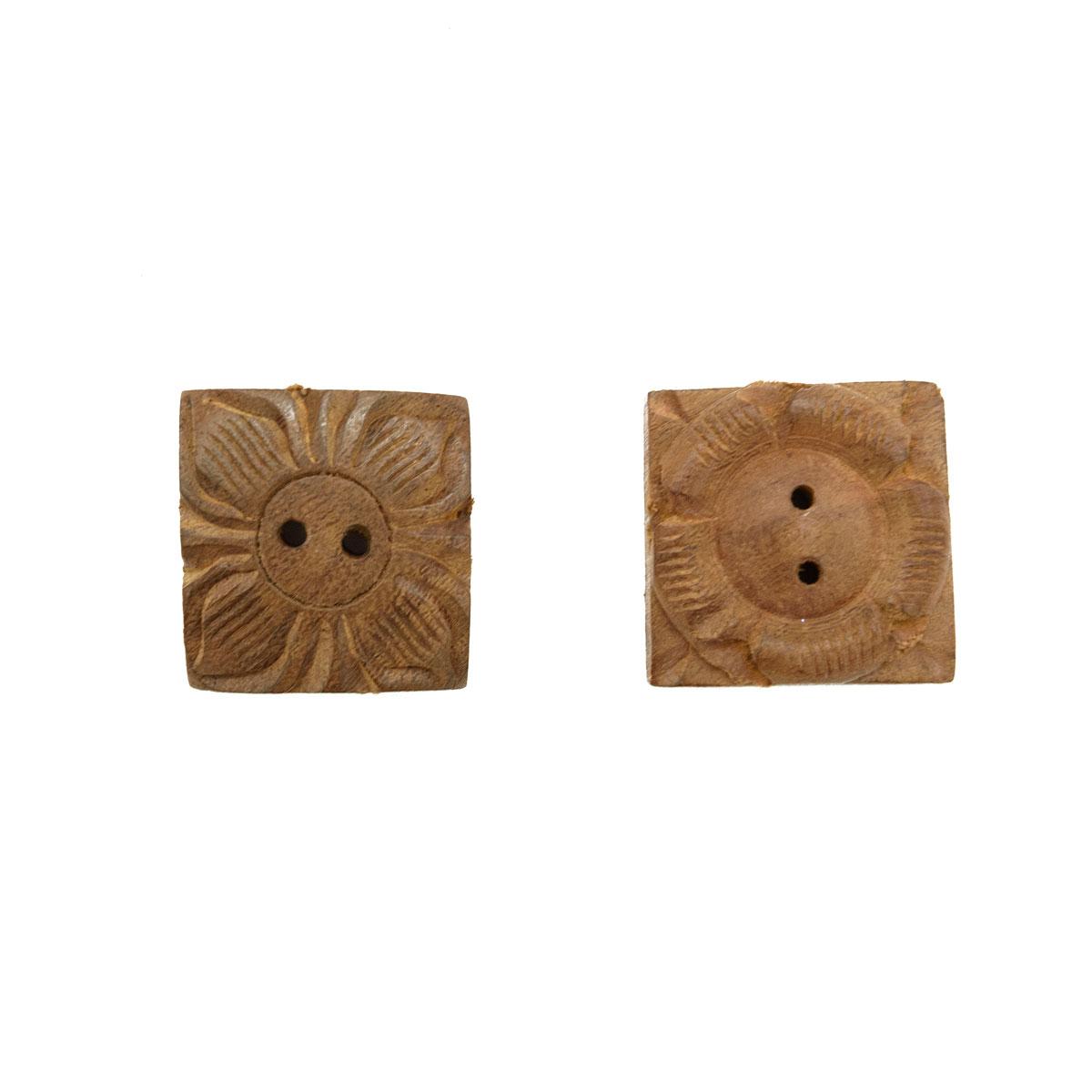 HAB700D, Пуговицы деревянные