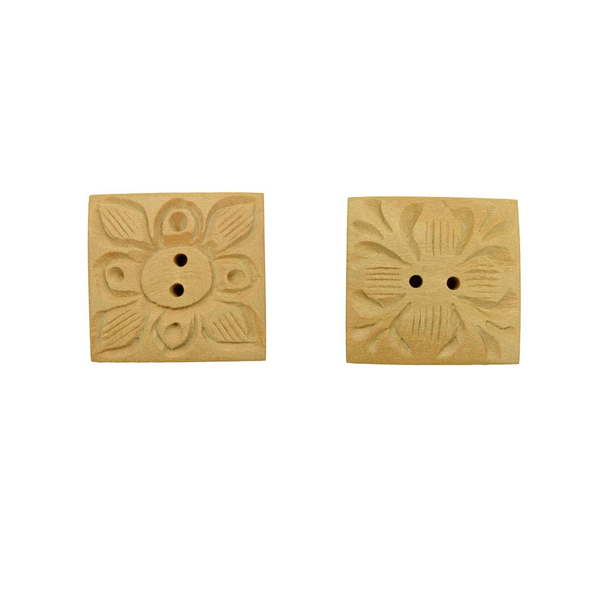 HAB715L, Пуговицы деревянные