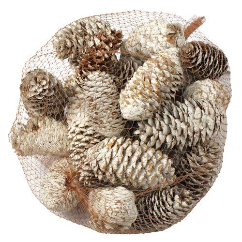 Шишки декоративные YW150, 250гр