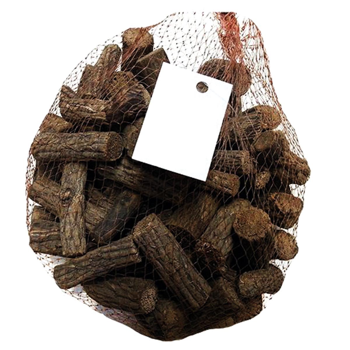 YW234 Декоративные элементы натуральные. Ветки Акебии, цв. коричневый, длина 5 см, 250гр