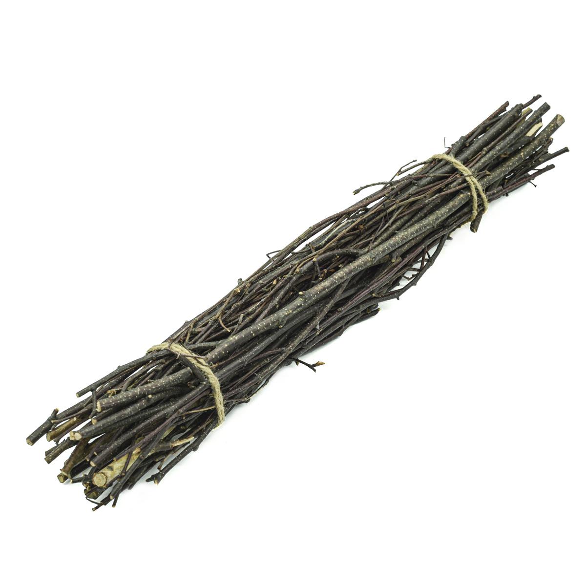 YW229 Хворост декоративный натуральный (береза), 50см