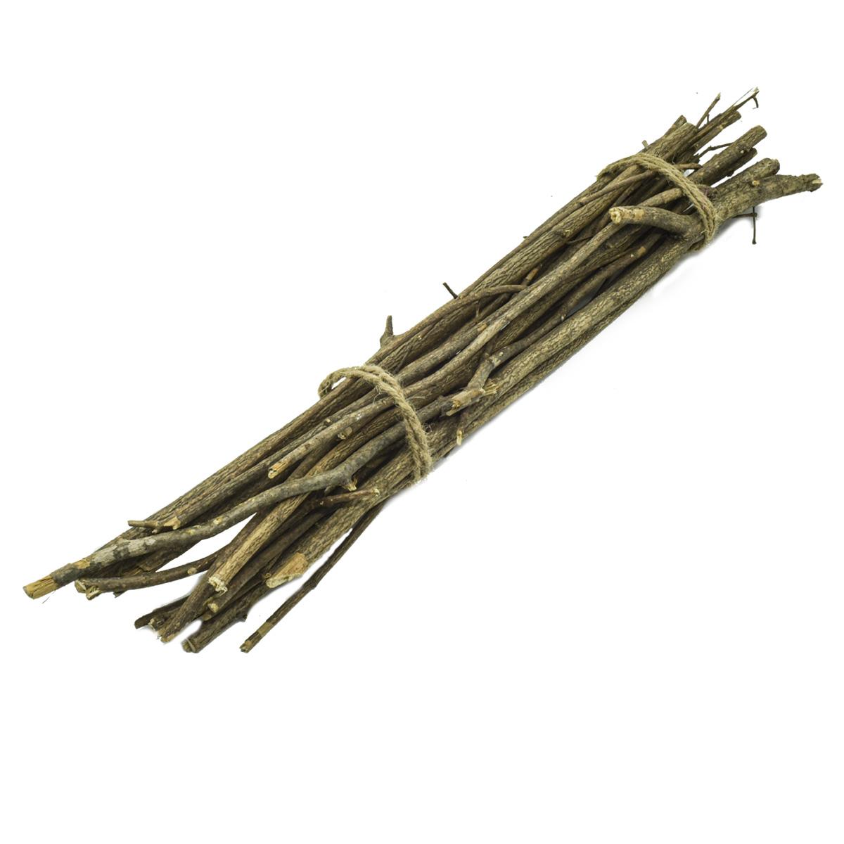 YW230 Хворост декоративный натуральный (орешник), 50см