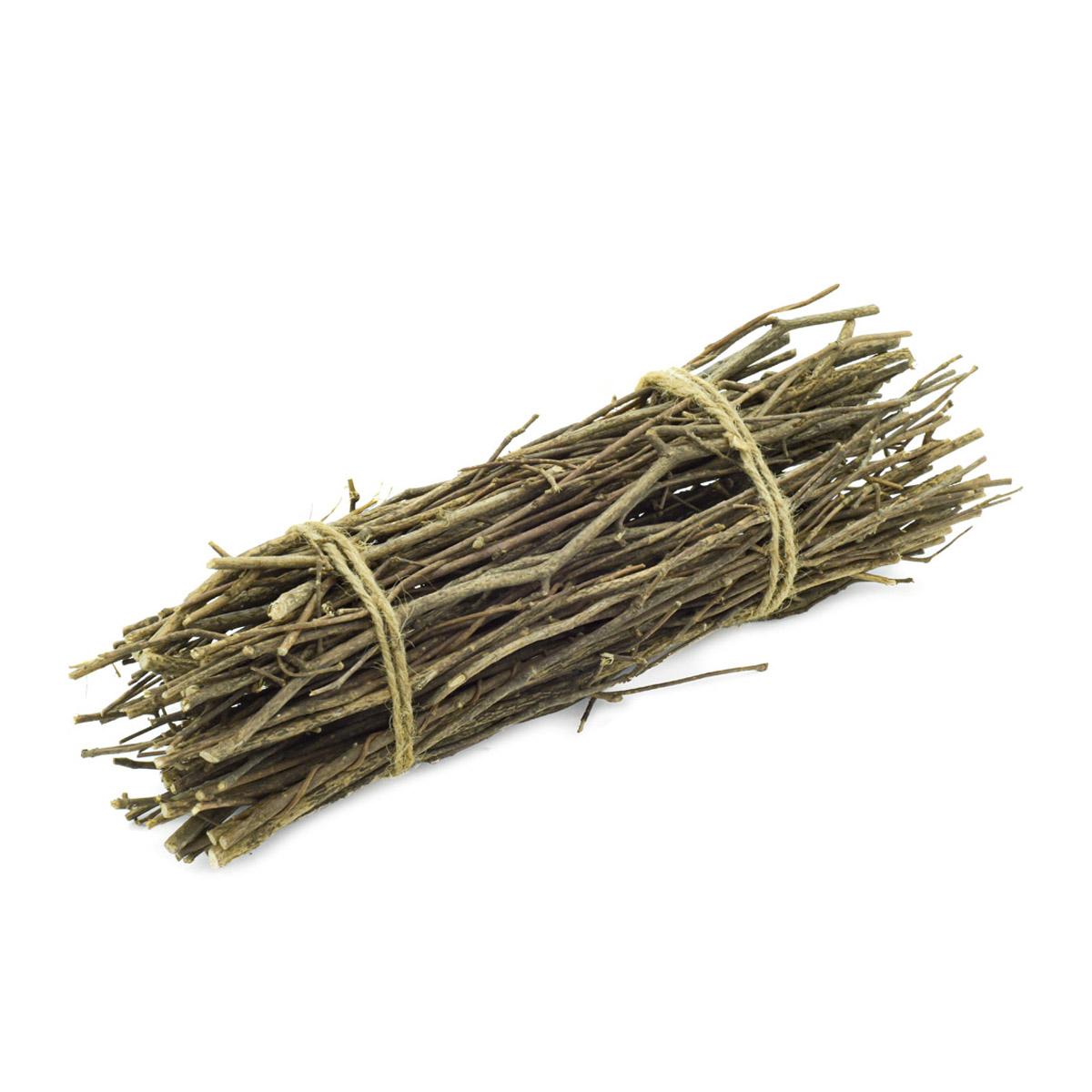YW230 Хворост декоративный натуральный (орешник), 30см